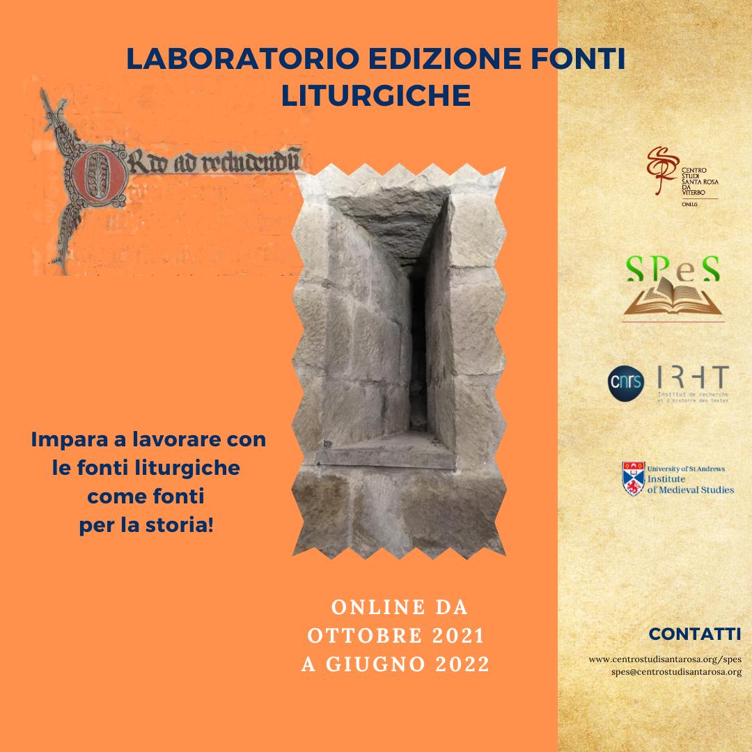 Laboratorio fonti liturgiche 2021-22 IG